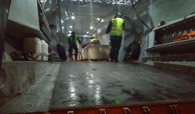 Special cargo explosives